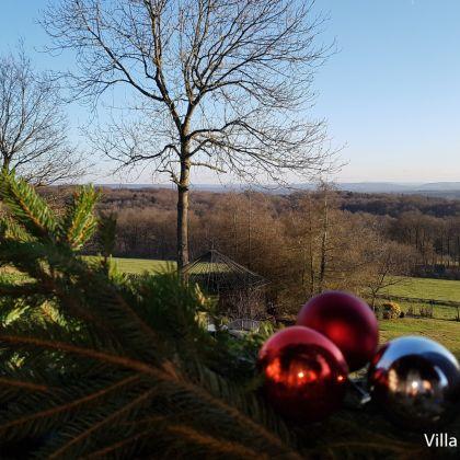 kerstdecoratie villa faro durbuy