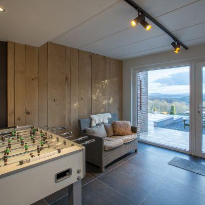slaapkamer en ontspanning villa faro durbuy suites