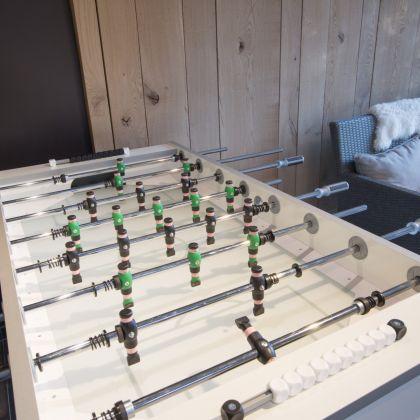 speelruimte met kickertafel voor kinderen villa Faro Durbuy