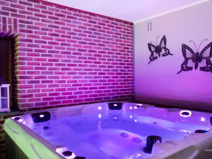 holiday house with spa for rent - Villa Faro Durbuy