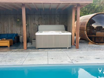 chaletfaro durbuy suites met zwembad, sauna en spa