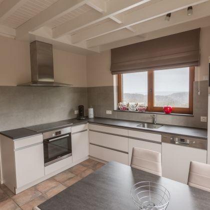 Villa Faro Durbuy suites luxe vakantiehuis met volledig uitgeruste keuken