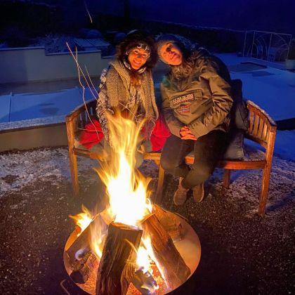 winter in de Ardennen in Villa Faro Durbuy